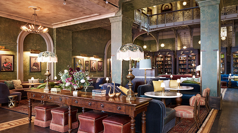 the beekman a thompson hotel lounge