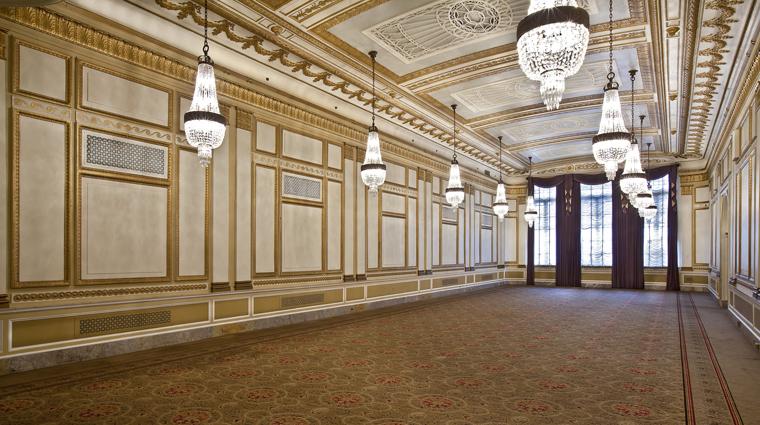 the benson hotel crystal ballroom