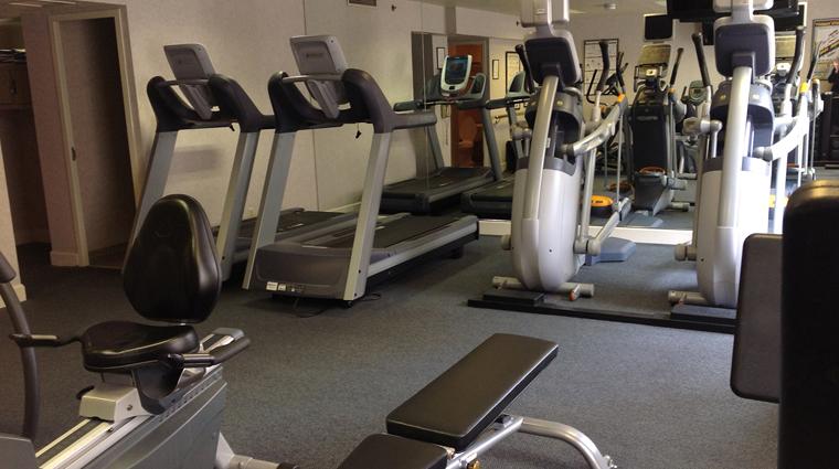 the benson hotel fitness center