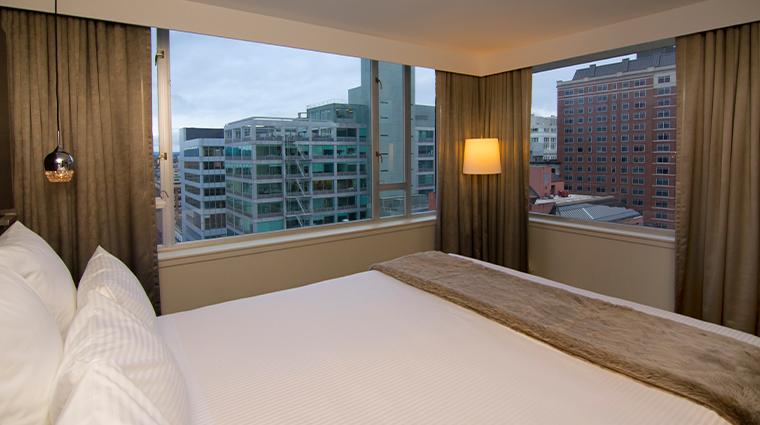 the benson hotel penthouse suite vuew