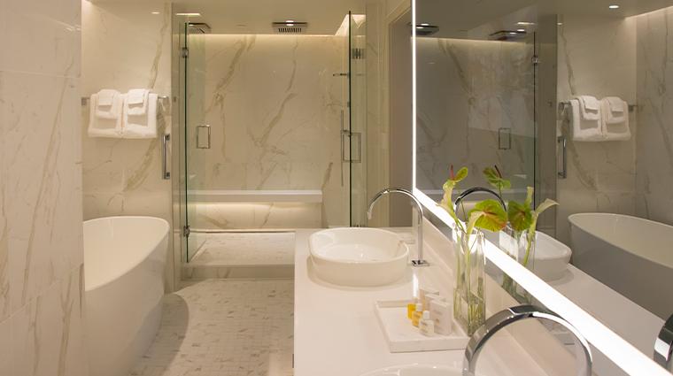 the benson hotel presidential suite master bath