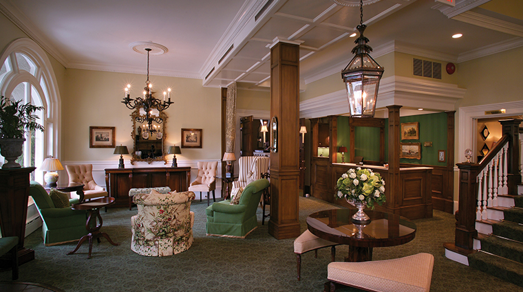 the bernards inn lobby