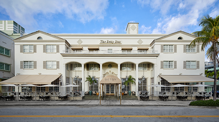 the betsy south beach facade
