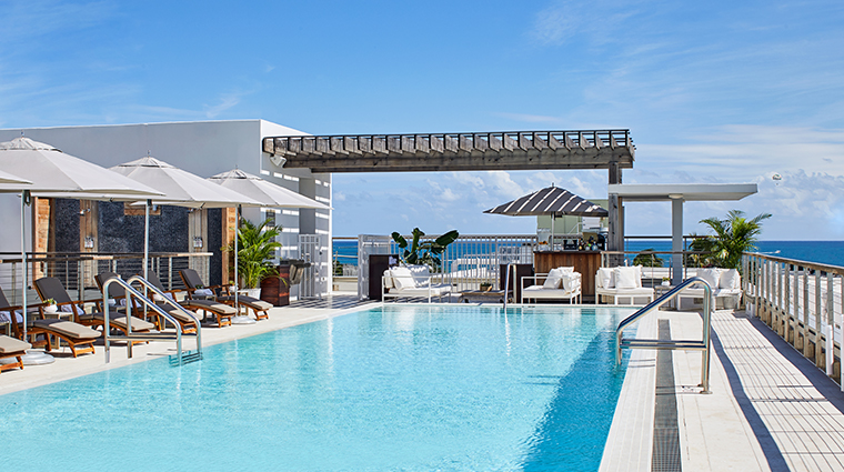 the betsy south beach rooftop pool