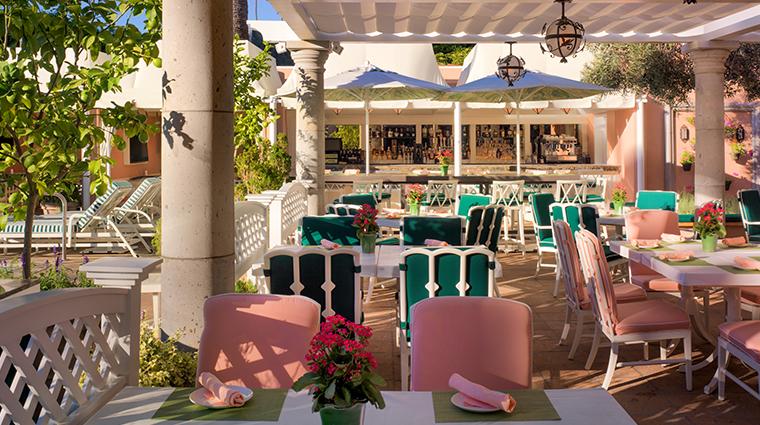 The Beverly Hills Hotel Cabana Cafe