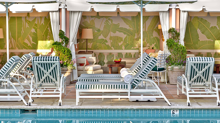 the beverly hills hotel cabanas