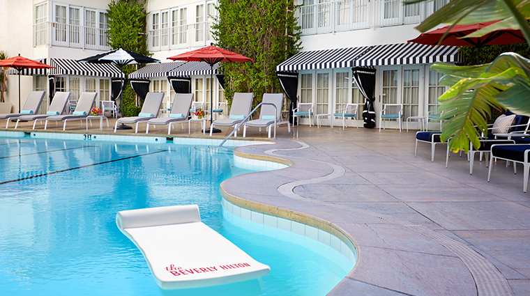the beverly hilton aqua star pool