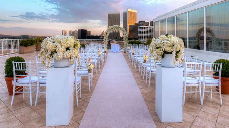 the beverly hilton stardust wedding