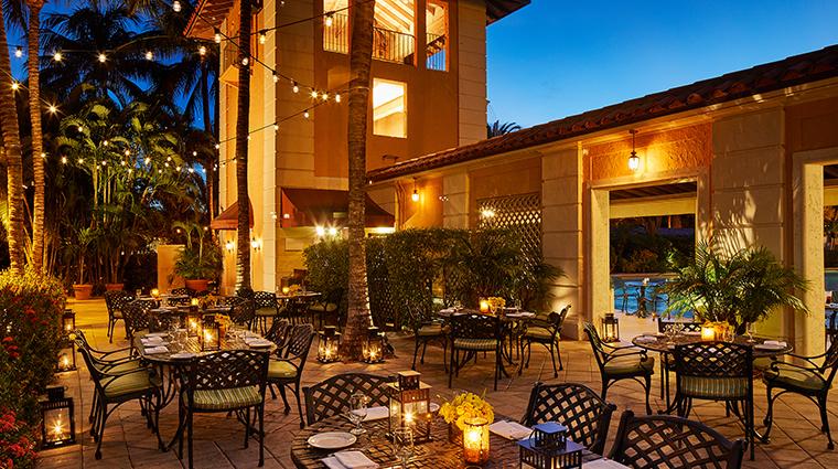 the biltmore Cascade patio