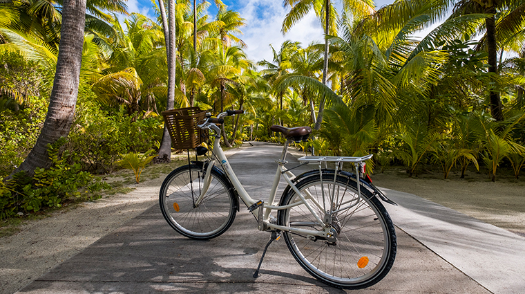 the brando tetiaroa private island complimentary bikes