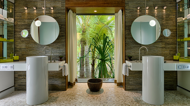 the brando tetiaroa private island one bedroom villa bathroom