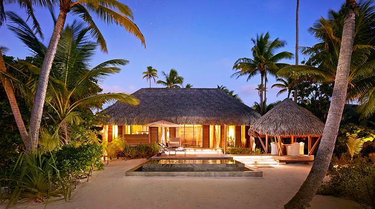 the brando tetiaroa private island one bedroom villa exterior