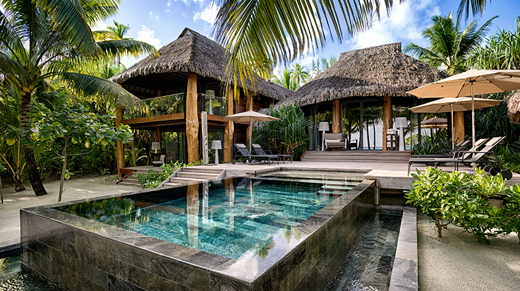 the brando tetiaroa private island three bedroom villa private pool