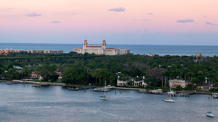 the breakers palm beach aerial
