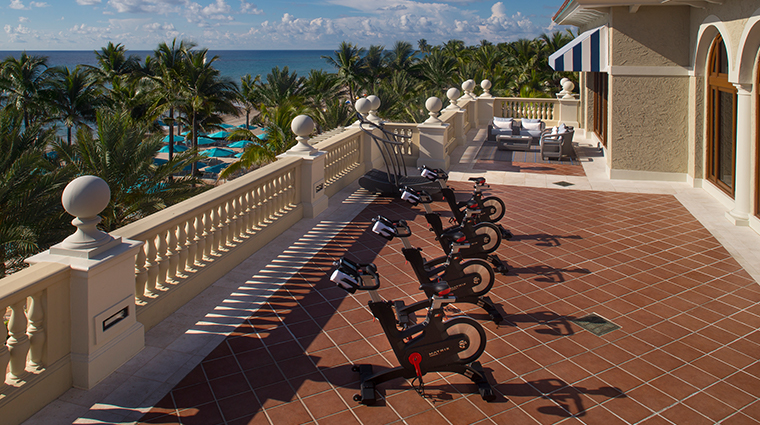 the breakers palm beach ocean fitness terrace