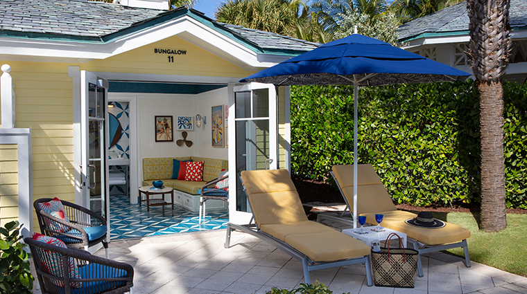 the breakers palm beach poolside bungalows