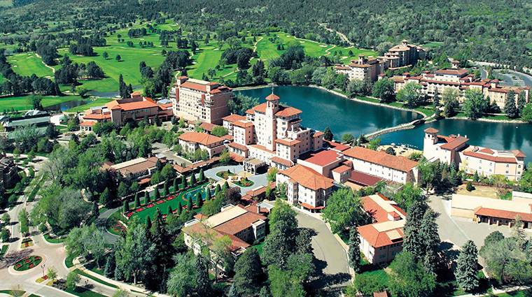 the broadmoor aerial