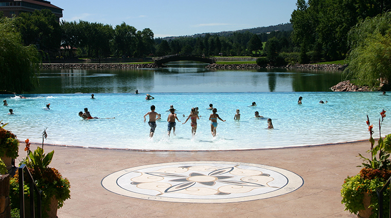 the broadmoor pool