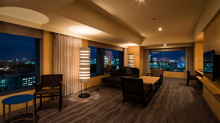 the capitol hotel tokyu executive suite living space