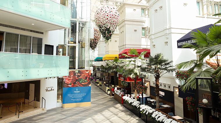 the capitol kempinski hotel singapore arcade