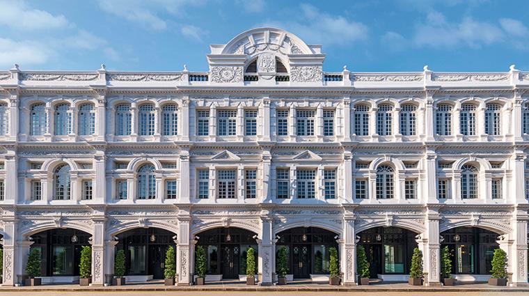 the capitol kempinski hotel singapore facade