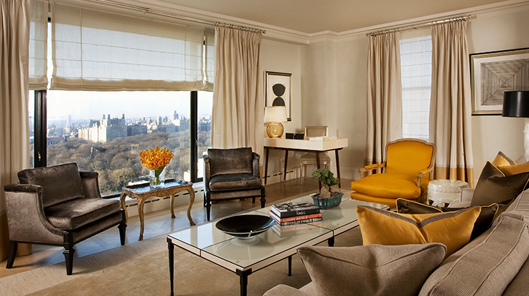 the carlyle a rosewood hotel central park tower suite