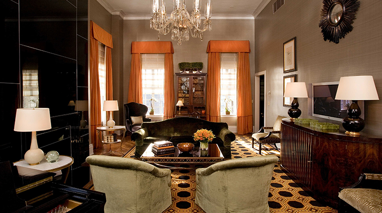 the carlyle a rosewood hotel premier two bedroom suite living room