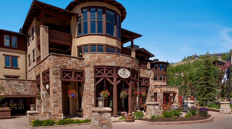 the chateaux deer valley room summer exterior