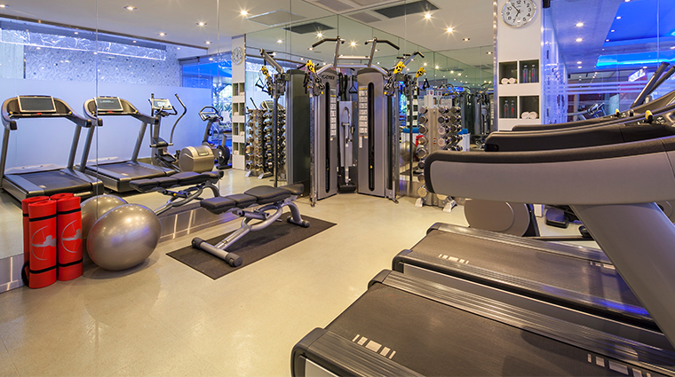 the chatwal a luxury collection hotel fitness center