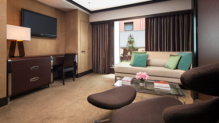 the chatwal a luxury collection hotel garden suite living room