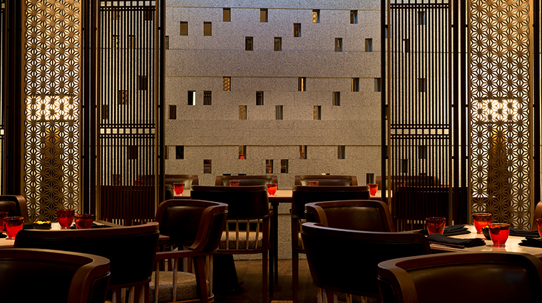 the chedi andermatt dining room