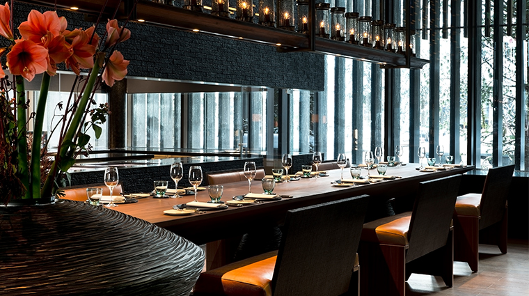 the chedi andermatt dining