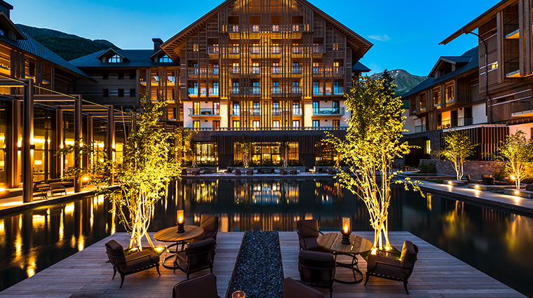 the chedi andermatt exterior close