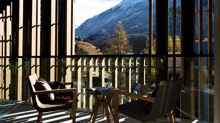 the chedi andermatt gemmstock suite view
