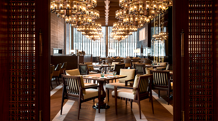 the chedi andermatt restaurant