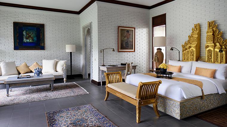 the chedi club tanah gajah ubud bali Hadiprana Villa Master Bedroom