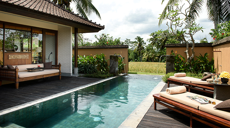 the chedi club tanah gajah ubud bali one bedroom private pool villa