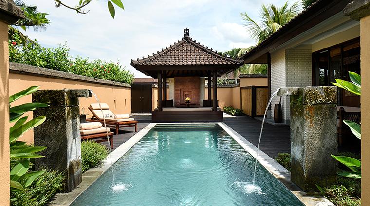 the chedi club tanah gajah ubud bali one bedroom private pool