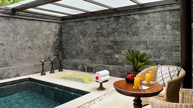 the chedi club tanah gajah ubud bali private pool