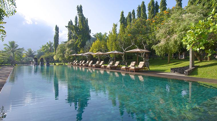the chedi club tanah gajah ubud bali swimming pool