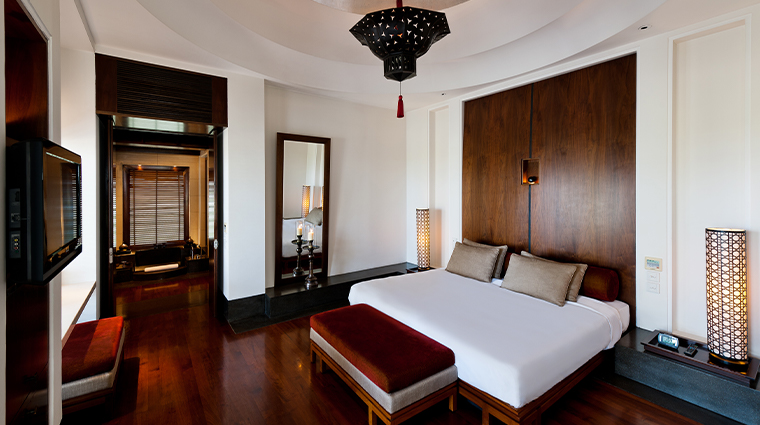 the chedi muscat bedroom