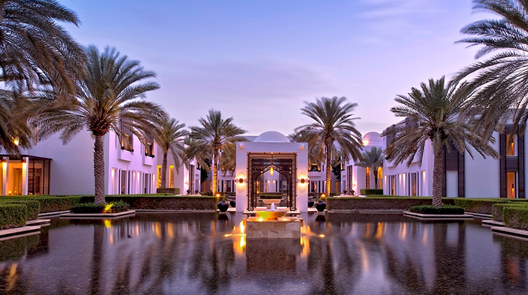 the chedi muscat exterior
