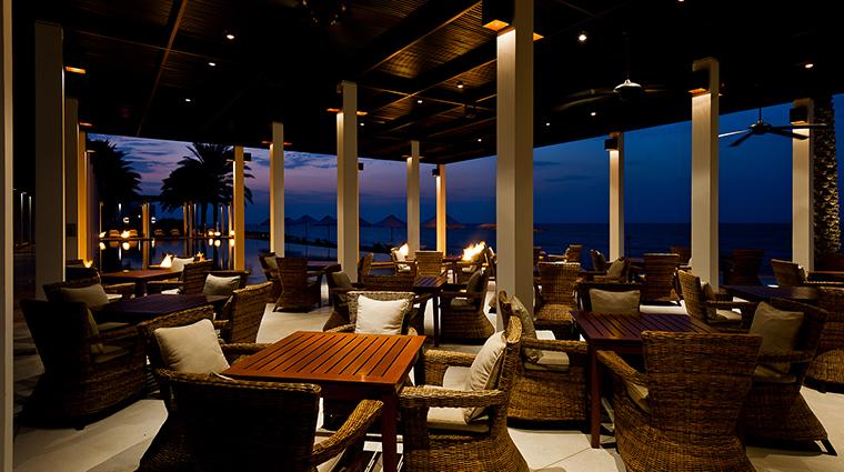 the chedi muscat pool cabana