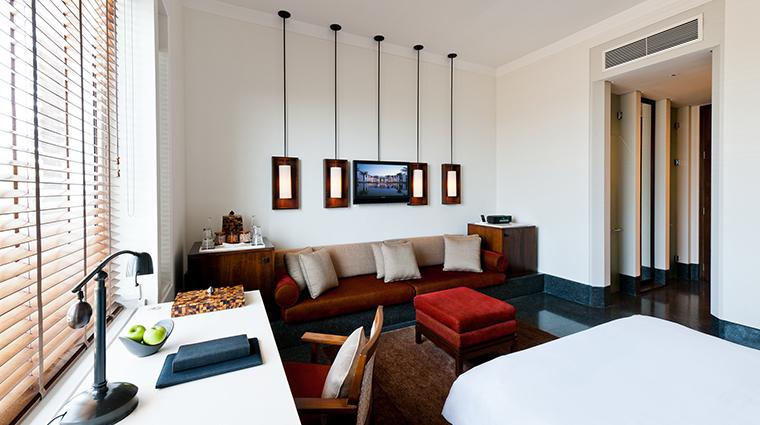 the chedi muscat serai bedroom