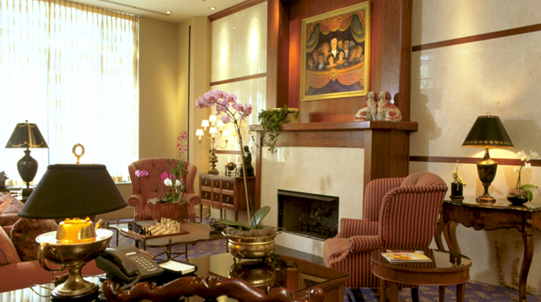 the cincinnatian hotel lobby