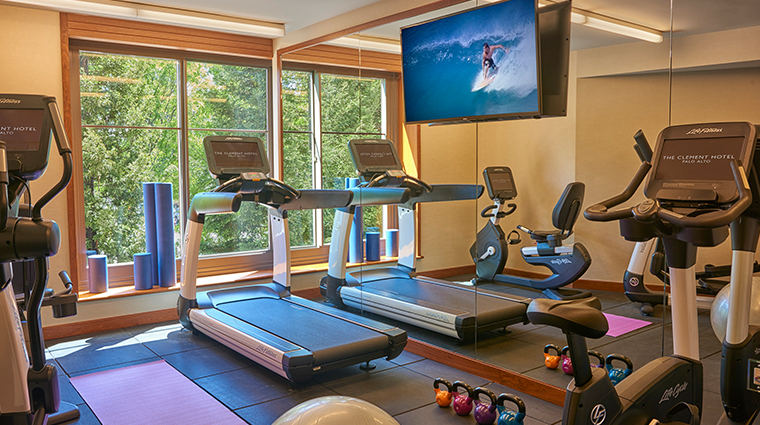 the clement hotel fitness center