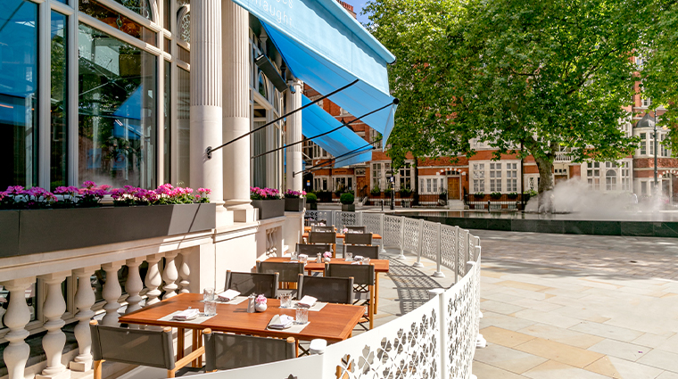 the connaught jean georges outdoor seating