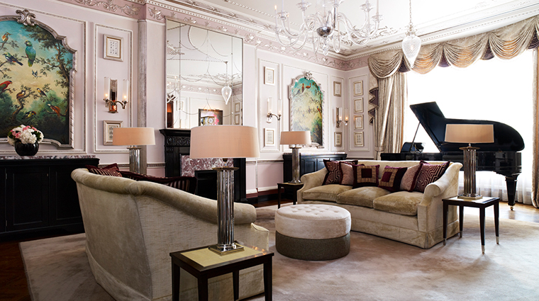 the connaught sutherland suite living room