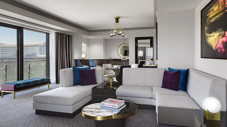 the cosmopolitan of las vegas new wraparound terrace suite