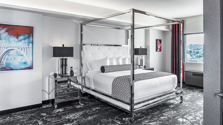 the davenport grand hotel autograph collection grand govenor suite bedroom